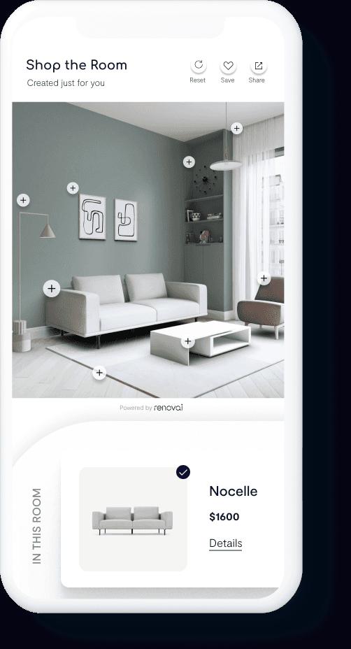 Customized Living Room Scenes